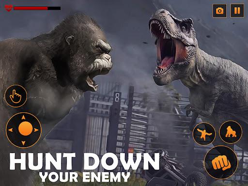 Monster Gorilla Attack-Godzilla Vs King Kong Games screenshot 12