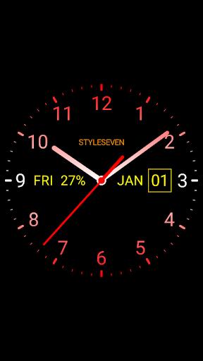 Analog Clock Live Wallpaper-7 screenshot 3