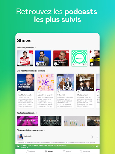 Deezer : musique, podcasts & playlists screenshot 13