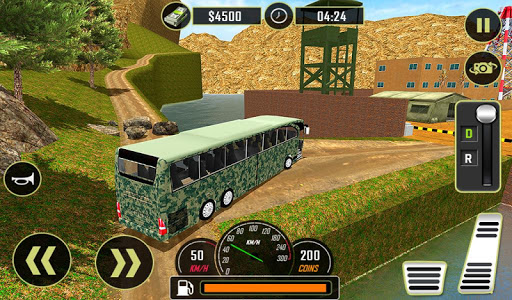 Army Bus Driver 2021:Real Military Coach Simulator screenshot 14