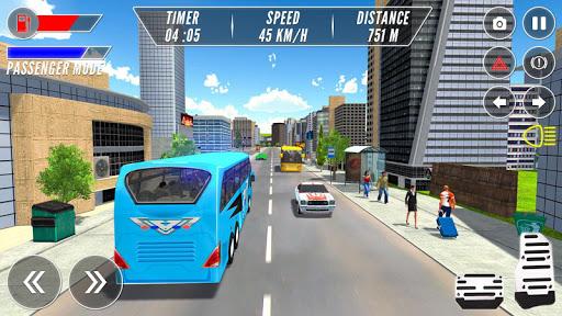moderno autobus guidare simulatore screenshot 2
