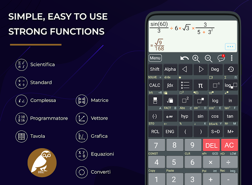 HiEdu He-570 calcolatrice scientifica screenshot 1
