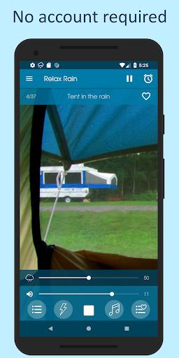 Relax Rain - Rain sounds: sleep and meditation screenshot 8
