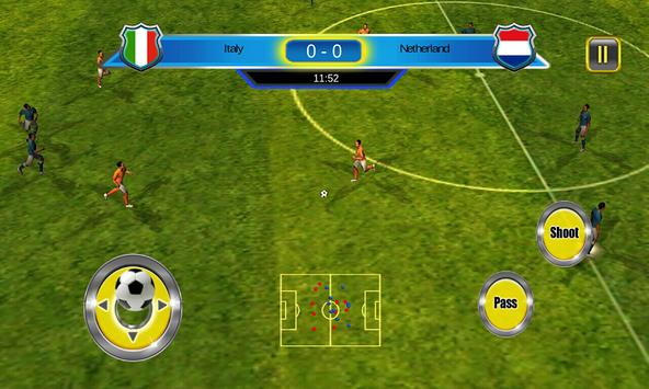 Soccer World Cup 2014 screenshot 8