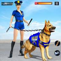US Police Dog Crime Chase Shooting Games on 9Apps