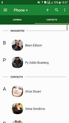 Phone   Contacts and Calls 3 تصوير الشاشة