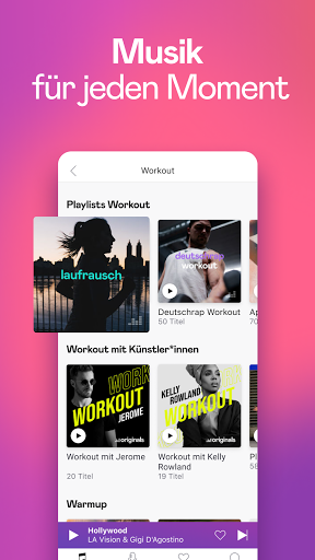 Deezer: Musik, Podcasts und Hörbücher hören screenshot 1