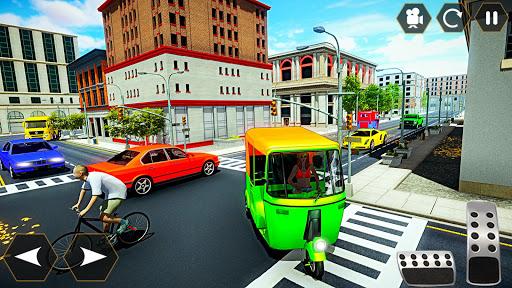 Tuk tuk Chingchi Rickshaw: City Rickshaw driver screenshot 8