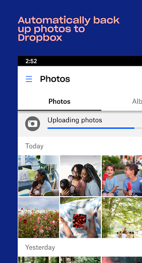 Dropbox: Cloud Storage, Photo Backup, File Manager screenshot 3