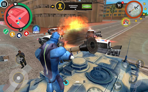 Rope Hero: Vice Town screenshot 8