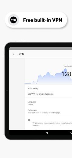 เบราว์เซอร์ Opera ที่มี VPN ฟรี screenshot 8