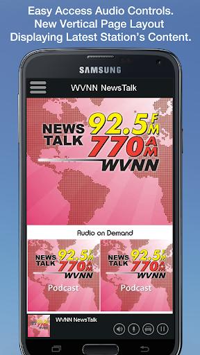 WVNN NewsTalk screenshot 1