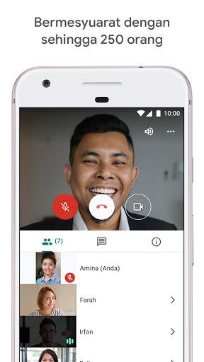 Google Meet screenshot 3