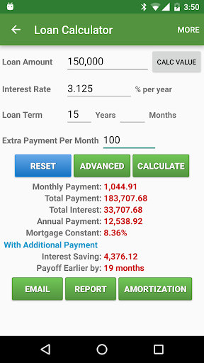 Financial Calculators screenshot 4