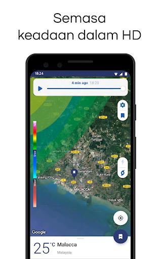 Clime: Radar Cuaca dan Ramalan screenshot 2