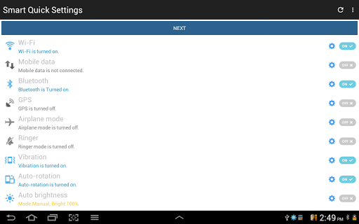 Configuración rápida screenshot 17