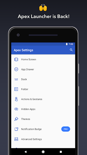 Apex Launcher - Customize,Secure,and Efficient screenshot 1