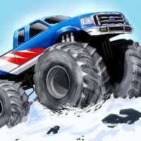 Monster Stunts -- monster truck stunt racing game on 9Apps