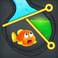 魚を救う-ピンゲームを引く on 9Apps