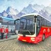 Uphill Bus Drive : Christmas Bus Simulator icon