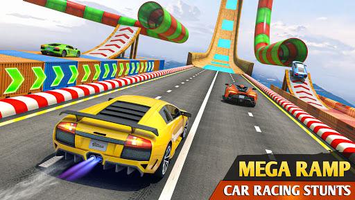 Mega Ramp Car Racing Stunts 3D - Impossible Tracks screenshot 1