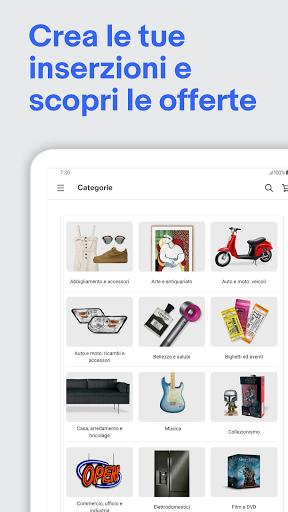 eBay - shopping moda, elettronica, casa e giardino screenshot 8