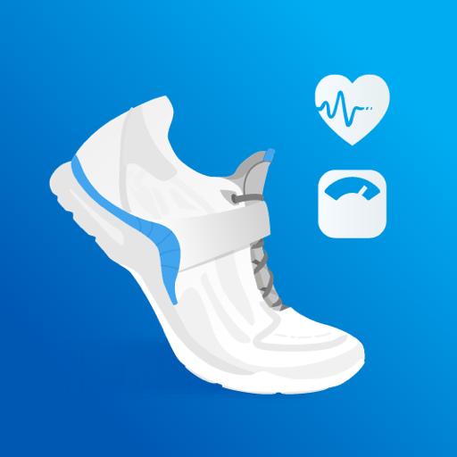 歩数計 : 人気の無料ウォーキングアプリ、ステップカウンター、カロリー計算、減量トラッカー icon