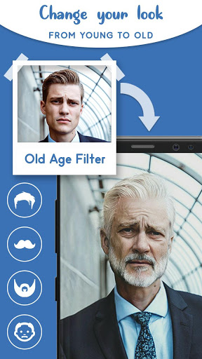 Old Age Face effects App: Face Changer Gender Swap screenshot 1