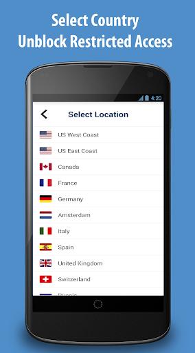 Free VPN Proxy - ZPN screenshot 3