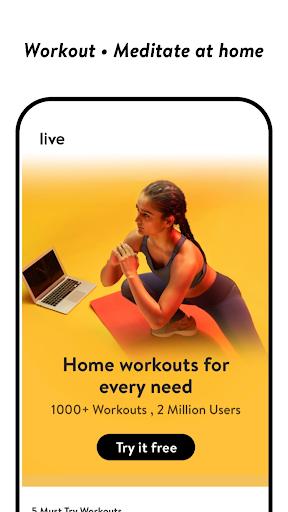 cult.fit Fitness, Meditation, Healthy food, Doctor screenshot 3