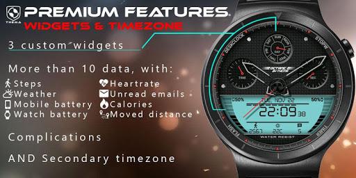 Octane Watch Face & Clock Widget скриншот 6