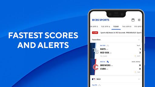 CBS Sports App - Scores, News, Stats & Watch Live screenshot 2