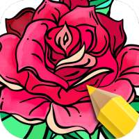 Flowers Coloring Books on 9Apps