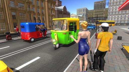 Modern Tuk Tuk Auto Rickshaw - Free Driving Games screenshot 3