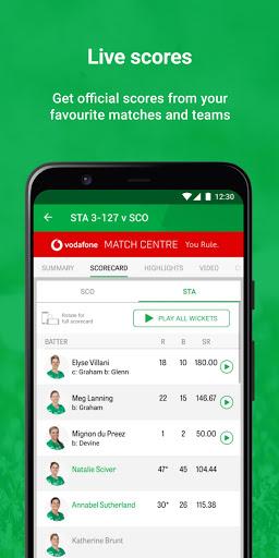 Cricket Australia Live screenshot 3