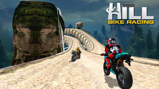Hill Top Bike Racing screenshot 3