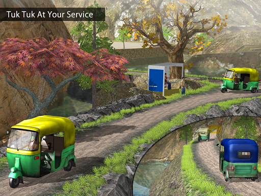Tuk Tuk Auto Rickshaw Offroad Driving Games 2020 screenshot 16