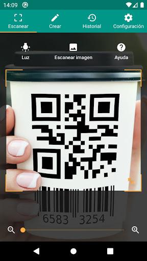 Lector de códigos QR y barras (español) screenshot 1