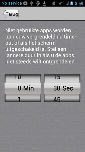 App-vergrendelaar screenshot 5