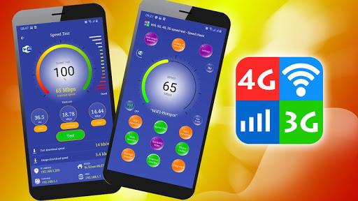 Wifi, 5G, 4G, 3G, 2G - Đo tốc độ mạng và Dữ liệu screenshot 1