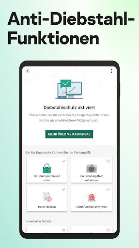 Kaspersky Sicherheit: Antivirus und Handy Schutz screenshot 3