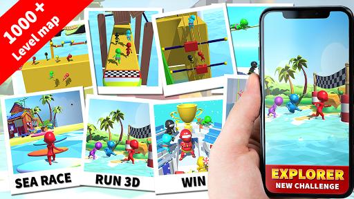 Sea Race 3D - Fun Game Run 3D screenshot 8