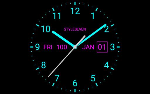 Analog Clock Live Wallpaper-7 screenshot 9