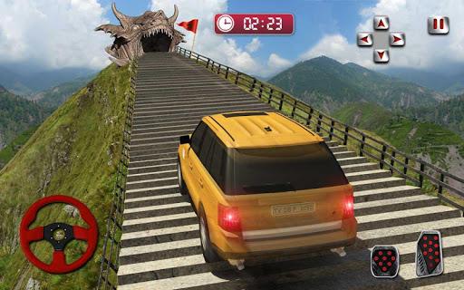 Ejderha Yol Sürme Simülatör: hız araba kaza Ölçek screenshot 16