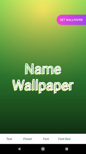 Name Wallpaper स्क्रीनशॉट 5