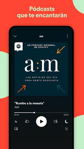 Spotify: música y pódcasts screenshot 8