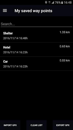 GPS Compass Navigator screenshot 4
