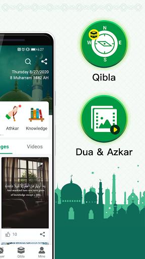 Muslim Prayer Times, Azan, Quran&Qibla By Vmuslim screenshot 2