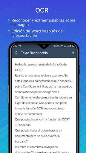 CamScanner Escáner PDF, Escáner de documentos screenshot 5