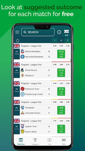 BetMines Free Football Betting Tips & Predictions screenshot 1